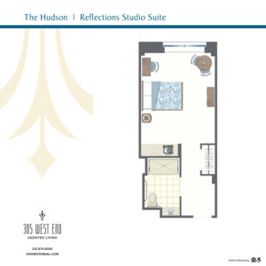 the hudson reflections studio suite