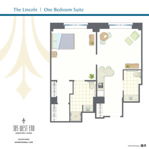 Lincoln 1 Bedroom