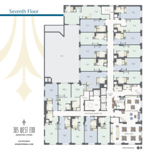 305 west end assisted living 7th floor