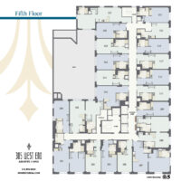 305 West End 5th Floor Floor plan